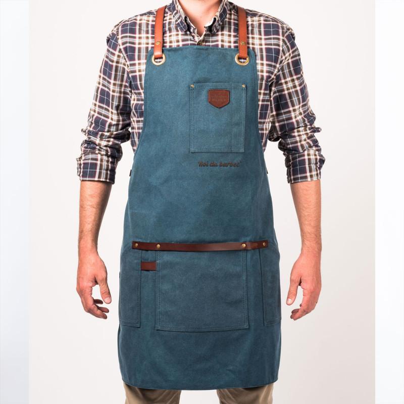 Tablier bleu homme Chic alaskan maker