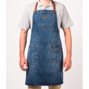 Apron No.325 - Washed Denim