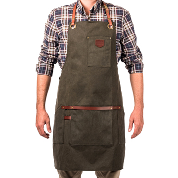 Apron No.547 - Olive Green
